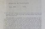 Die Wirkung non Substanzen au/ den Netzbau der Spinne…<br><strong>Archivio di Fisiologia Voi. IVI</strong>