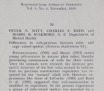 Differences In Web-Patterns Between Tube- and Cage- Raised Spiders<br><strong>Reprinted from American Zoologist</strong>