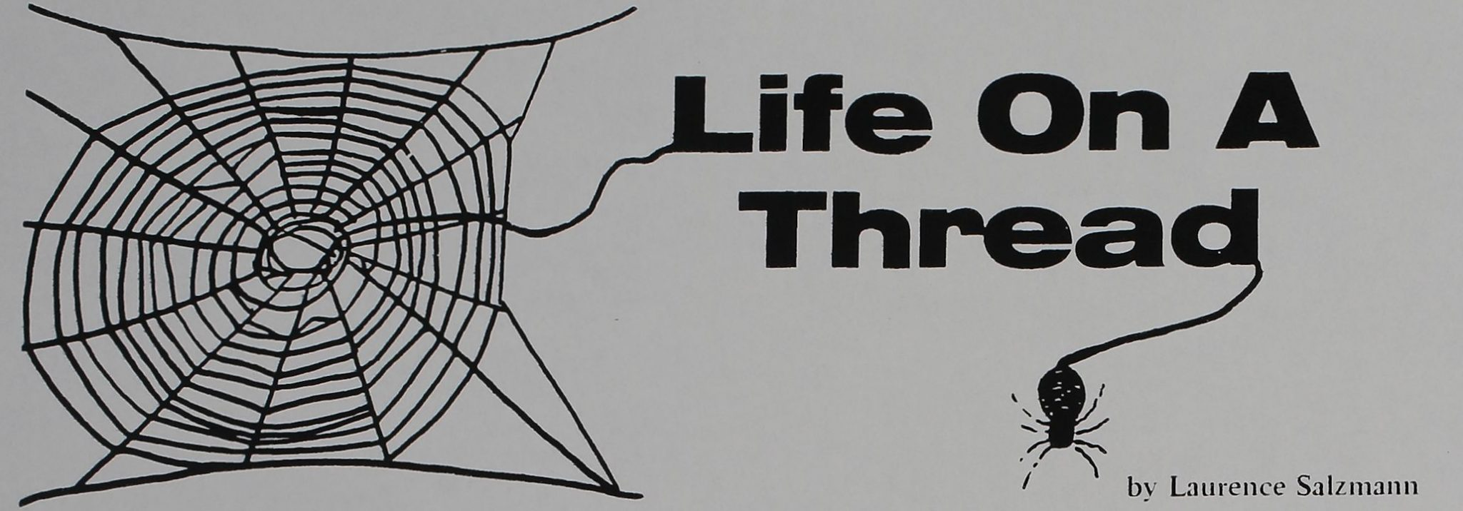 Life on a Thread - Filmmakers Newsletter